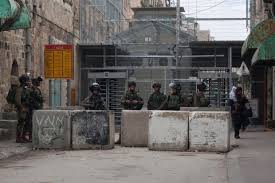 checkpoint hebron