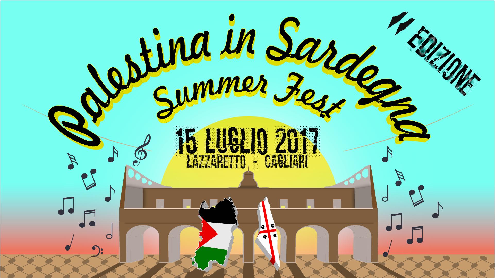 COVER EVENTO Palestina In Sardegna 2017